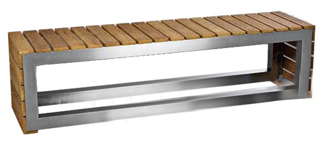 Standard Slatted Bench Wooden Slats