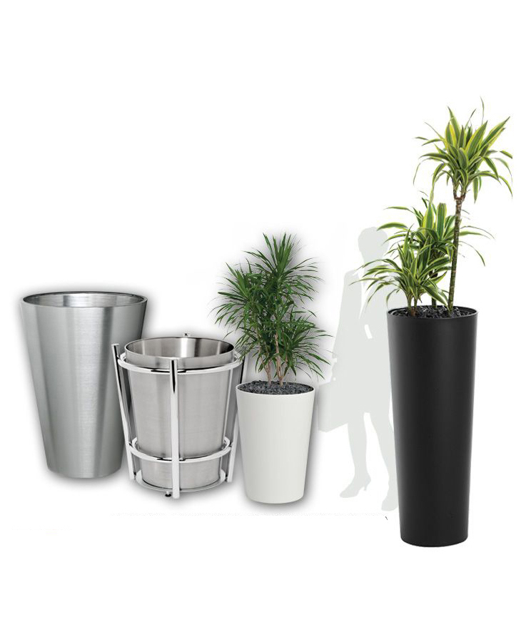 CONICAL TAPERED PLANTERS